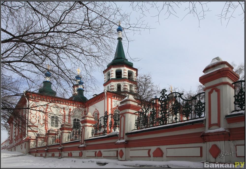 крашенные под фото крестовоздвиженской церкви в иркутске печать любых изображений
