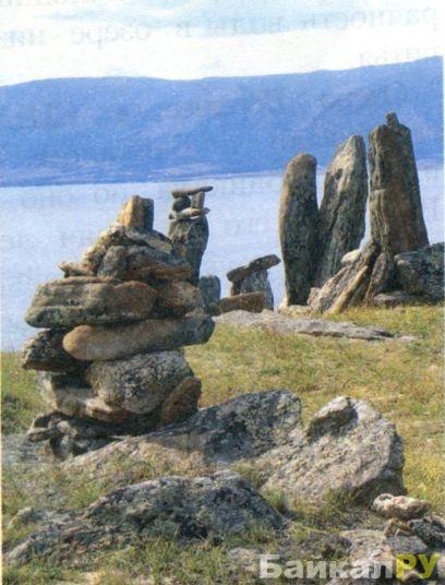 Камни на побережье Байкала