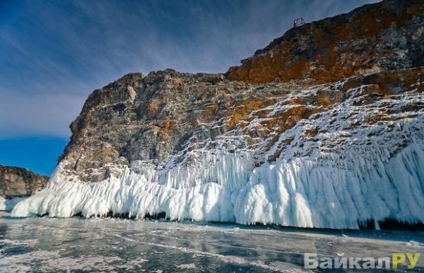 жизнь подо льдом Байкала